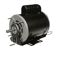 Capacitor Start Resilient Base Motor 208-230/115 Volts 1725 RPM 3/4 H.P.
