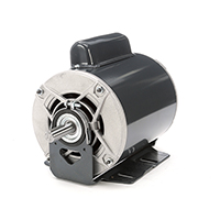 56 Frame Fan and Blower Duty Motor, 1/3 HP, 1140 RPM, 115/230 Volts