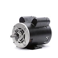 Capacitor Start Rigid Base Motor 208-230/115 Volts 1725 RPM 1 H.P.