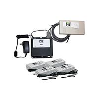 NotifEye Kit w/ (4) 6 Ft Temp Sensors, Gateway & 1 year Hosting 900 MHz