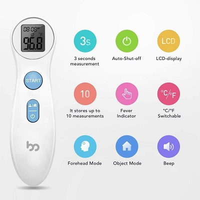 Cooper Atkins Infrared Forehead Thermometer