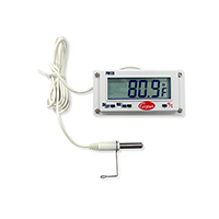 Digital Panel Thermometer 26In x 14In, 15V AA BATT, -40/120 Deg F / Deg C