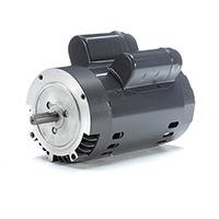 56C FR Capacitor Start/Capacitor Run Motor, 3/4 HP, 1725 RPM, 115/208-230 V