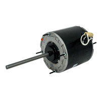"5 5/8"" Diameter Condenser Fan Motor, 1/2 HP, 208-230 Volts, 1075 RPM"