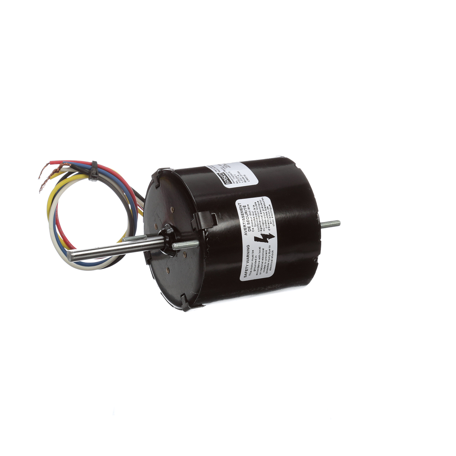 3.3 Inch Diameter Motor 1550 RPM 115/230 Volts