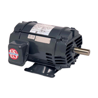 General Purpose Motor, 1-1/2 HP, 208-230/460 Volts, 1725 RPM, 5.0-4.8/2.4 Amps