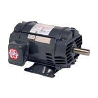 General Purpose Motor, 1-1/2 HP, 208-230/460 Volts, 1725 RPM, 5.0-4.8/2.4 Amps