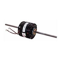 5 In Dia Double Shaft Fan/Blower Motor Less Base 208-230 Volts 1625 RPM