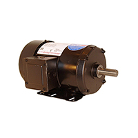 Three Phase TEFC Motor 200-230/460 Volts 1800 RPM 5 H.P.