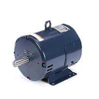 Three Phase ODP Rigid Base Motor 200-230/460 Volts 1800 RPM 3 H.P.