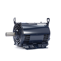 Three Phase ODP Motor 200-230/460 Volts 1800 RPM 10 H.P.