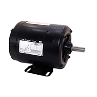 Three Phase ODP Rigid Base Motor 200-230/460 Volts 1200 RPM 1/2 H.P.