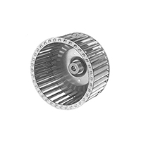 Galvanized Steel Single Inlet Blower Wheel 7-31/64