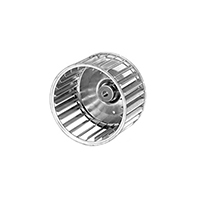 Galvanized Steel Single Inlet Blower Wheel 8 35/64