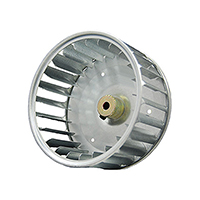 Single Inlet Blower Wheel 7-3/4 In. Dia. 1/2 Hub CCW First Company Repl.