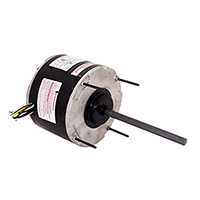 5 5/8 In Dia Outdoor Sleeve Bearing Fan Motor 208-230 Volts 1075 RPM 1/3 HP
