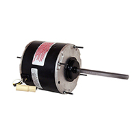 "Century 1/2 HP 5 5/8"" Diameter Condenser Fan Motor 208-230 Volts 1075 RPM"