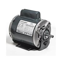 48 Frame Capacitor Start Fan and Blower Motor, 1/4 HP, 1725 RPM, 115/230 V
