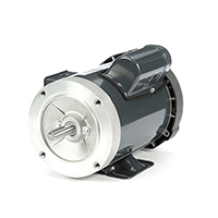 56C Frame General Purpose Motor, 3/4 HP, 1725 RPM, 115/208-230 Volts
