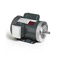 56HC Frame General Purpose Motor, 1 HP, 1725 RPM, 115/208-230 Volts