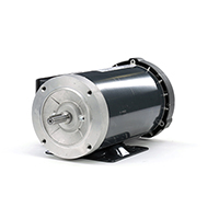 56HC FR Capacitor Start/Capacitor Run Motor, 2 HP, 1725 RPM, 115/208-230 V
