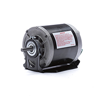 Century 1/4 HP 1725 RPM 115 Volt Belt Drive Blower Motor 48/56 Frame Base