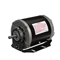 Century 1/2 HP 1725 RPM 115 Volt Belt Drive Blower Motor 48/56 Frame Base