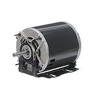 48Z Frame Split Phase Fan & Blower Motor, 1/4 HP, 1725 RPM, 115 Volts