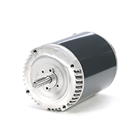 56CZ Frame Exhaust Vent Motor, 1/3 HP, 1725/1140 RPM, 115 Volts
