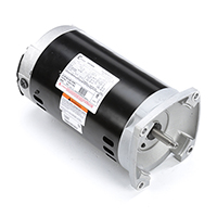 Square Flange Pool And Spa Pump Motor 208-230/460 V 3450 RPM 1-1/2 HP