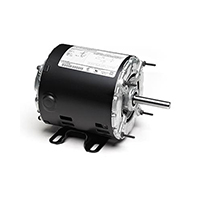 48Z Frame Split Phase Motor, 1/4 HP, 1725 RPM, 115 Volts, Steel Endshields