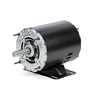 56Z Frame Split Phase Motor, 1/2 HP, 1725 RPM, 115 Volts, Steel Endshields