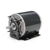 48Z Frame Split Phase Fan & Blower Motor, 1/6 HP, 1800 RPM, 115 Volts