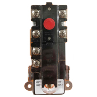 Single Element Thermostat with High Limit