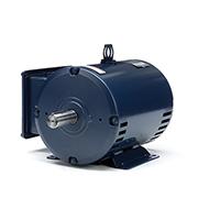 184 T Frame Capacitor Start/Capacitor Run Motor, 5 HP, 1800 RPM, 208-230 V