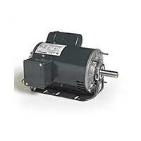 145T FR Capacitor Start Fan and Blower Mtr, 1.5 HP, 1800 RPM, 115/208-230 V