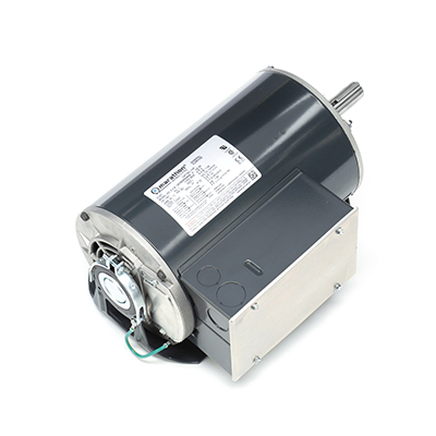 145T FR Capacitor Start Fan and Blower Motor, 2 HP, 1800 RPM, 115/208-230 V