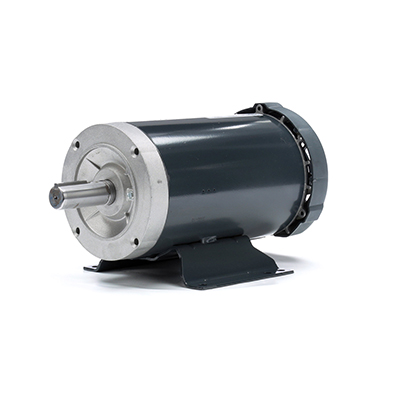 182T FR Capacitor Start/Capacitor Run Motor, 2 HP, 1800 RPM, 115/208-230 V