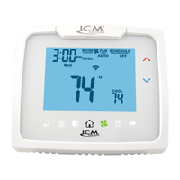 ICM I3-Series Touch Thermostat