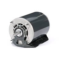 56H Frame 3 Ph. Fan & Blower Motor, 1-1/2 HP, 1725 RPM, 200-230/460 V