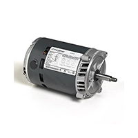Marathon 56J Frame 1/2 HP Motor 3 Phase 3450 RPM 208-230/460 Volts