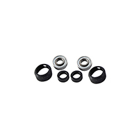 Sealed Ball Bearings With Insulator (1 set)