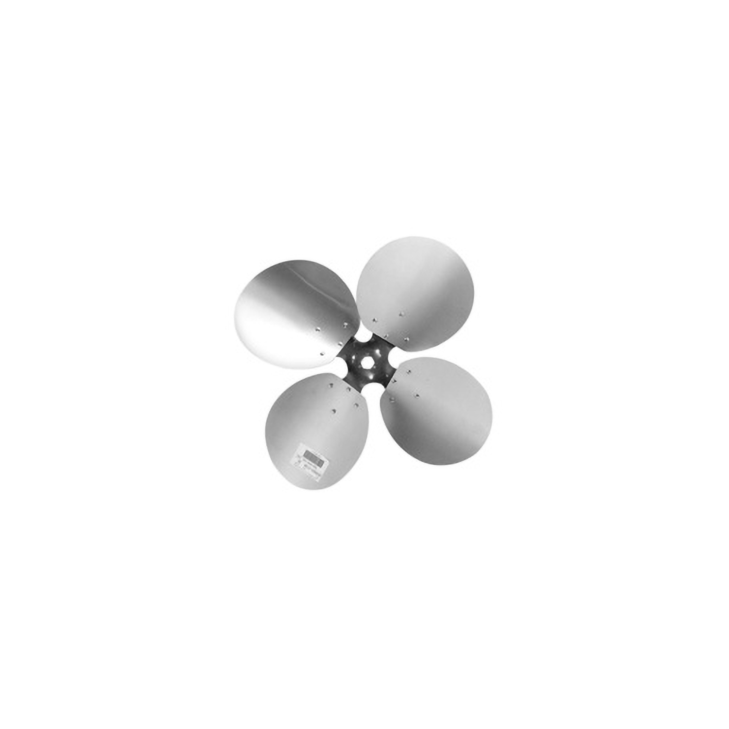 "4-Blade Free Air Propeller 24"" Diameter CW Rotation"