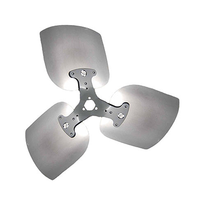 "3-Blade Heavy Duty Condenser Propeller 24"" Diameter CW Rotation"