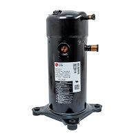 LG Refrigeration Scroll Compressor 25,000 BTU MBP, Multi Refrigerant, 208/230-1-60