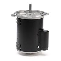 48NZ Frame Capacitor Start Oil Burner Mtr, 1/3 HP, 3450 RPM, 115/208-230 V