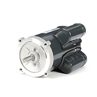 56C Frame Capacitor Start Oil Burner Mtr, 1 1/2 HP, 3450 RPM, 115/208-230 V