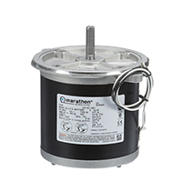 48N Frame Split Phase Oil Burner Motor, 1/6 HP, 1725 RPM, 115 Volts