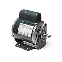 56 Frame Capacitor Start Fan and Blower Motor, 1/2 HP, 1800 RPM, 115/230 V
