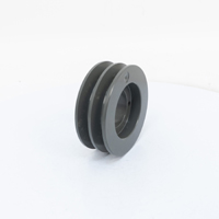 Two Groove Bushing Pulleys For 4L Or A Belts 3.75